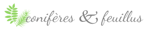 logo of conifères et feuillus food blog by annika