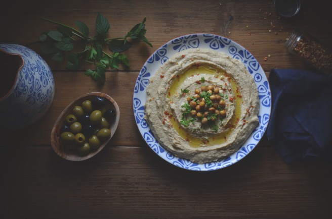 classic hummus recipe; conifères et feuillus
