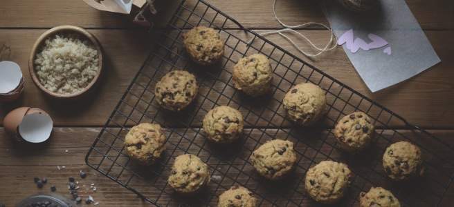 whole wheat and quinoa chocolate chip cookies | conifères et feuillus food blog