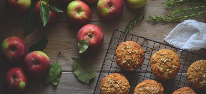apple muffins | conifères et feuillus food blog