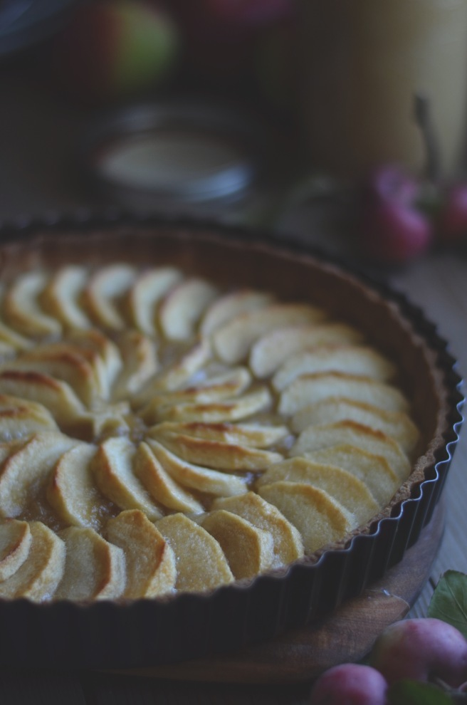 easy apple tart | conifères & feuillus