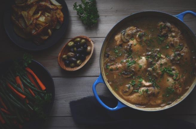 classic chicken marsala | conifères & feuillus