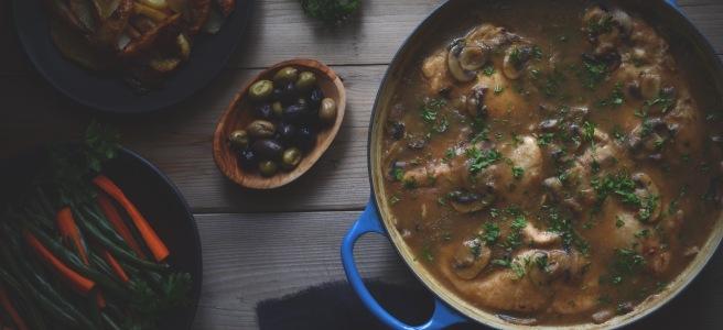 classic chicken marsala recipe | conifères et feuillus food blog