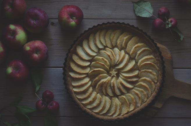 easy apple tart | conifères et feuillus food blog