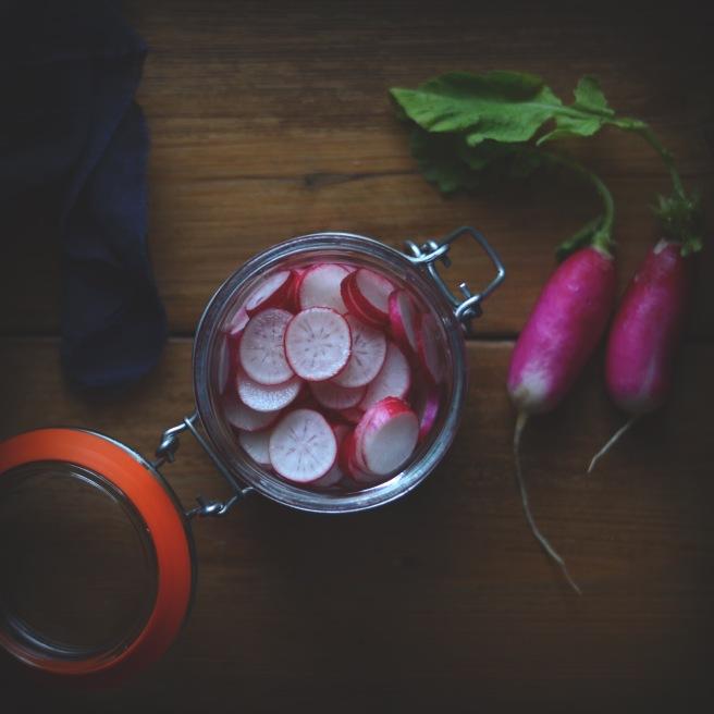 easy radish recipes | conifères et feuillus food blog