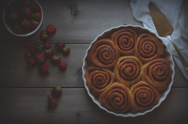 whole wheat cinnamon buns | conifères et feuillus food blog
