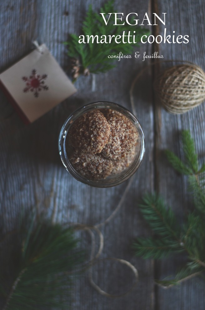 Vegan Amaretti Cookies | conifères & feuillus