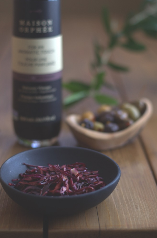 red cabbage with balsamic vinegar | conifères et feuillus;