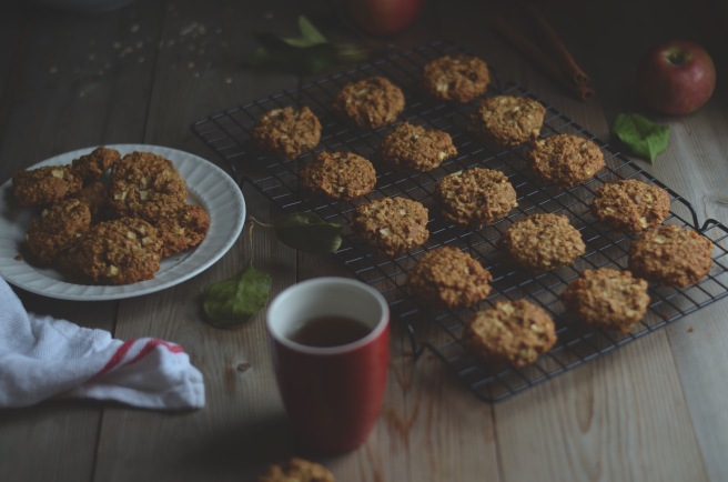 apple oatmeal cookies | conifères et feuillus