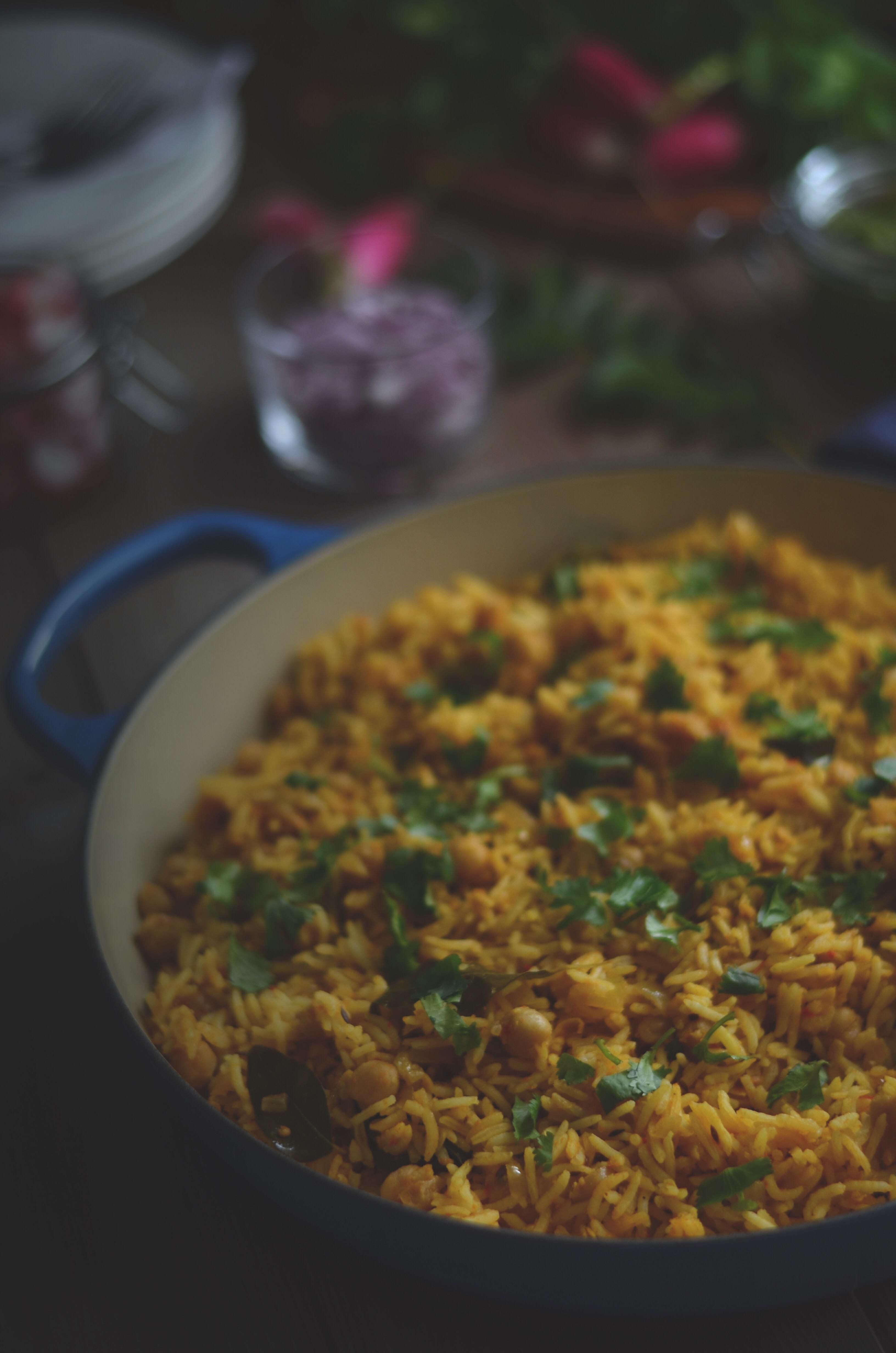 how-to-make-chickpea-biryani