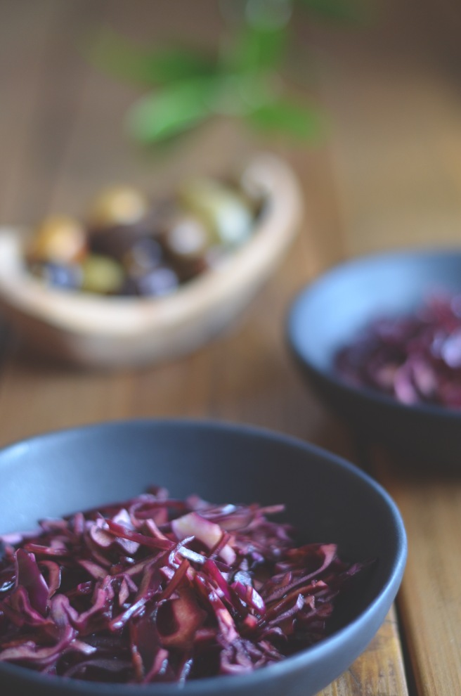 red cabbage with balsamic vinegar | conifères et feuillus food blog