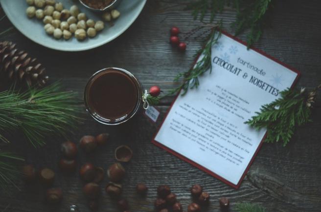 Vegan homemade chocolate and hazelnut spread   conifères & feuillus