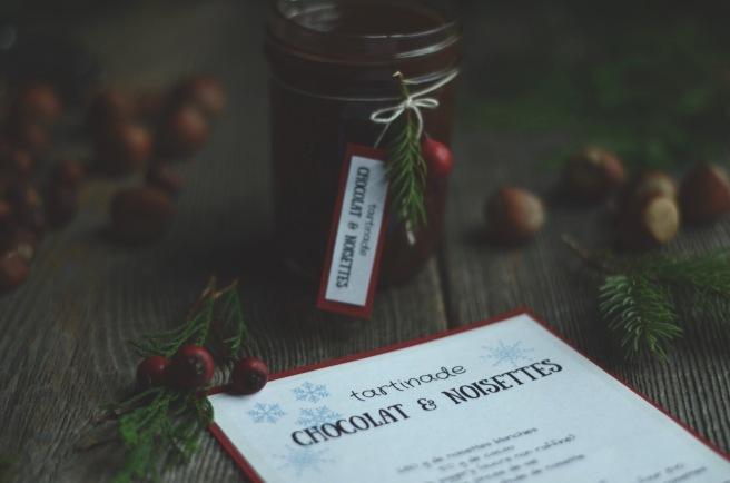 Vegan homemade chocolate and hazelnut spread | conifères & feuillus
