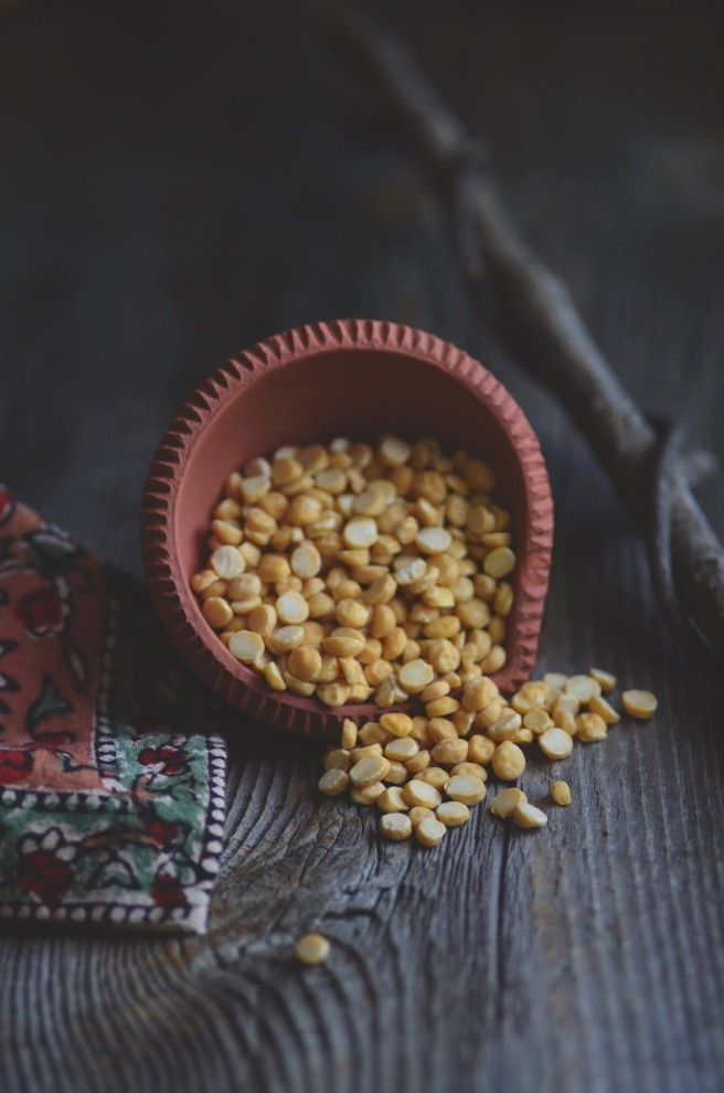 Toor dal (Split Pigeon Peas) | conifères & feuillus