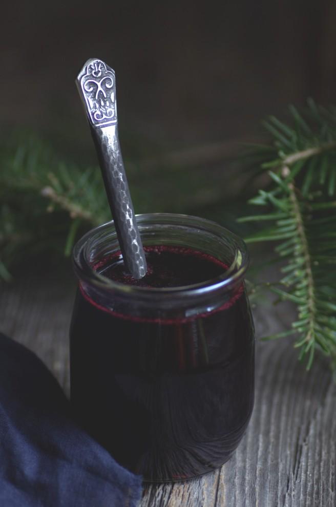 wild blueberry sauce | conifères & feuillus