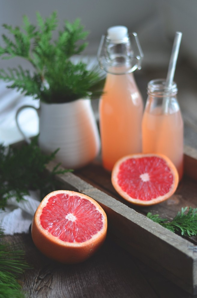 Grapefruit & Green Tea Thrist Quencher | conifères & feuillus