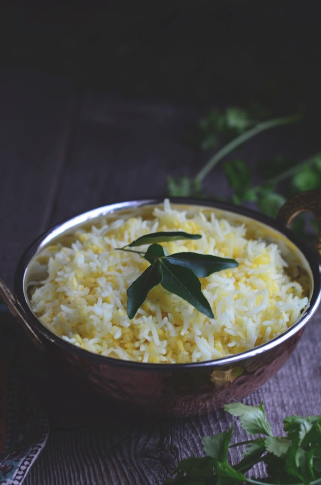 khichdi, a simple dish made with rice and split mung dal | conifères & feuillus