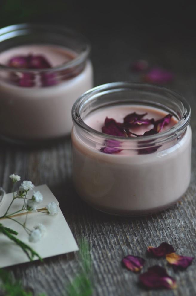 rosewater lemon posset | conifères & feuillus