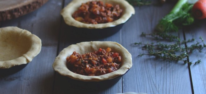 Guinness Lamb and Vegetable Pies | conifères & feuillus