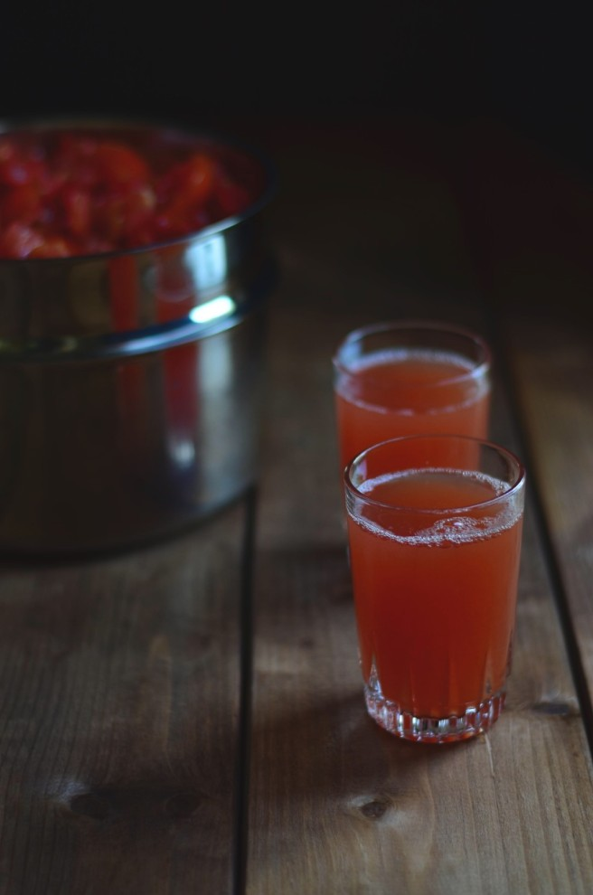 tomato juice is the byproduct of making pizza sauce | conifères & feuillus