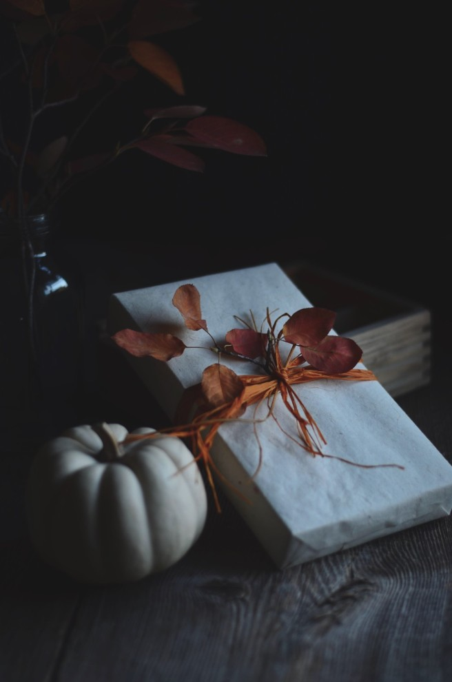 Autumn gift wrapping inspiration | conifères & feuillus