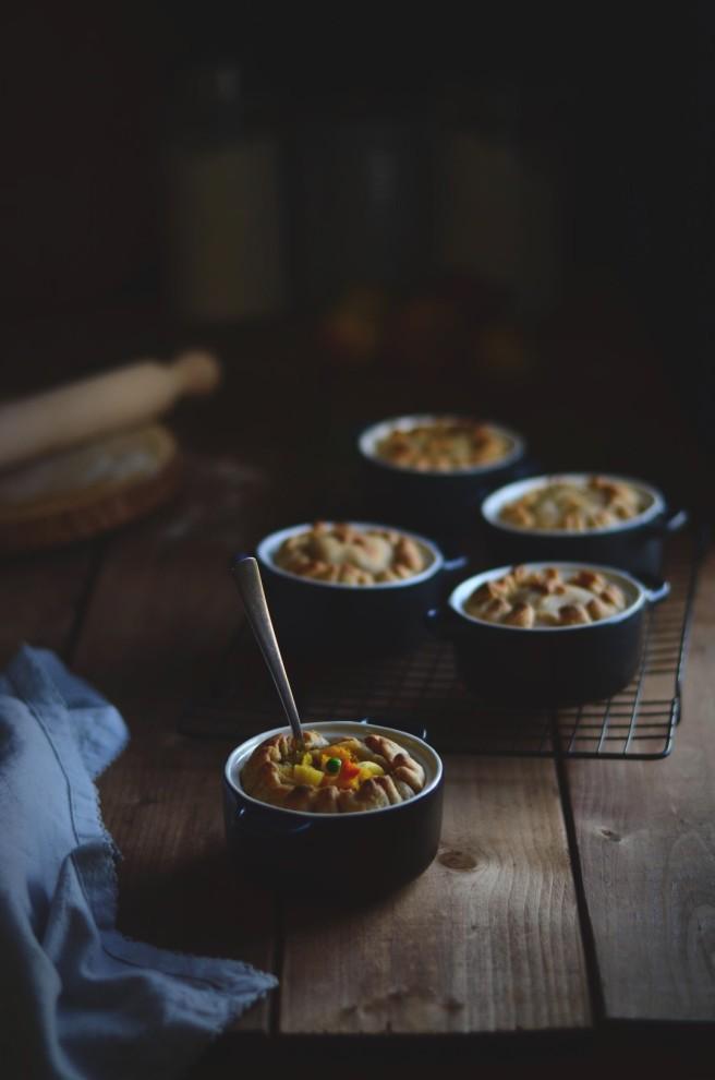 autumn vegetable pot pies | conifères & feuillus