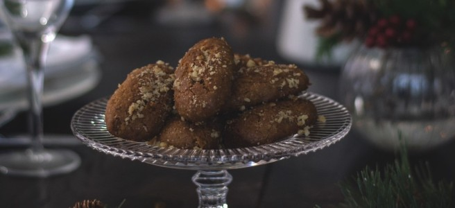 melomakarona, traditional greek christmas cookies | conifères & feuillus