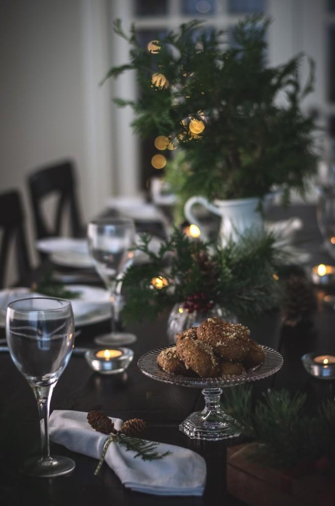 melomakarona, greek christmas cookies | conifères & feuillus