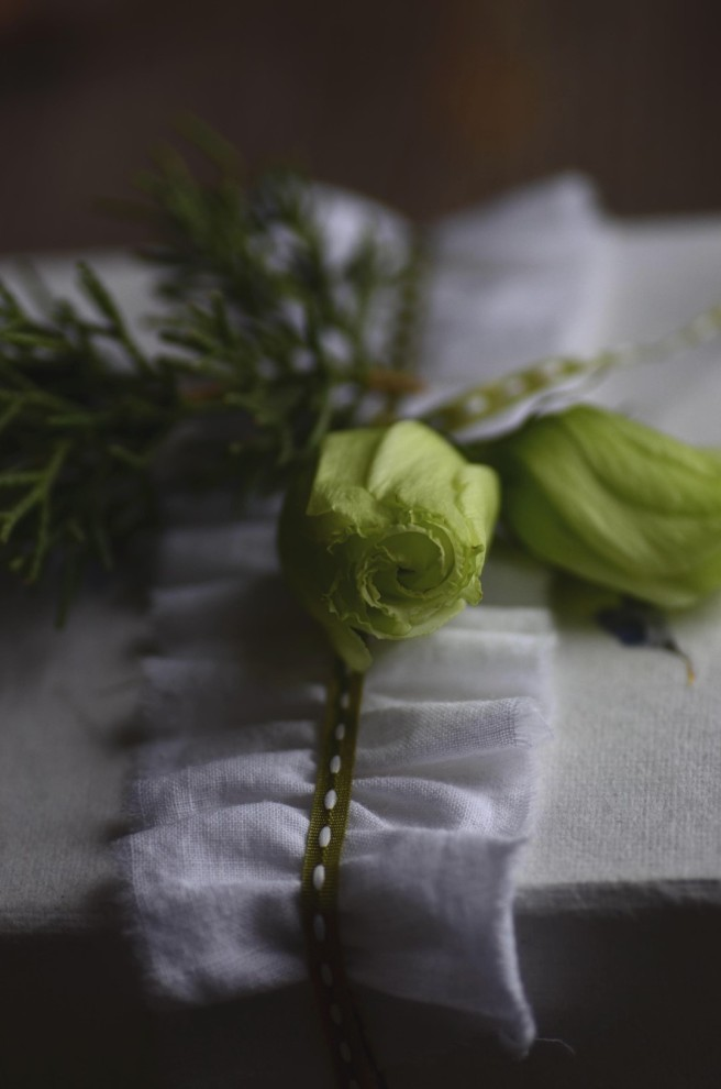 how to make a ruffled ribbon | conifères & feuillus