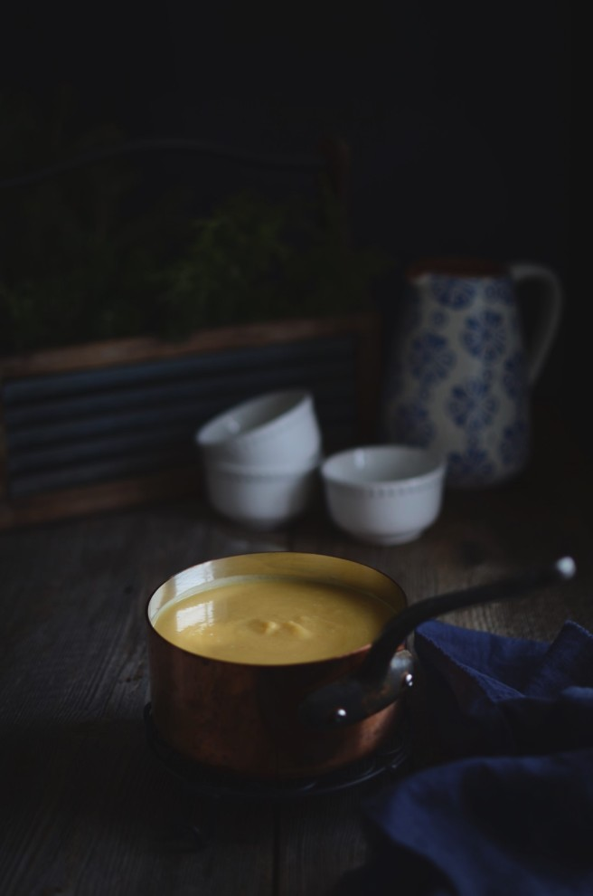 root vegetable soup | conifères & feuillus