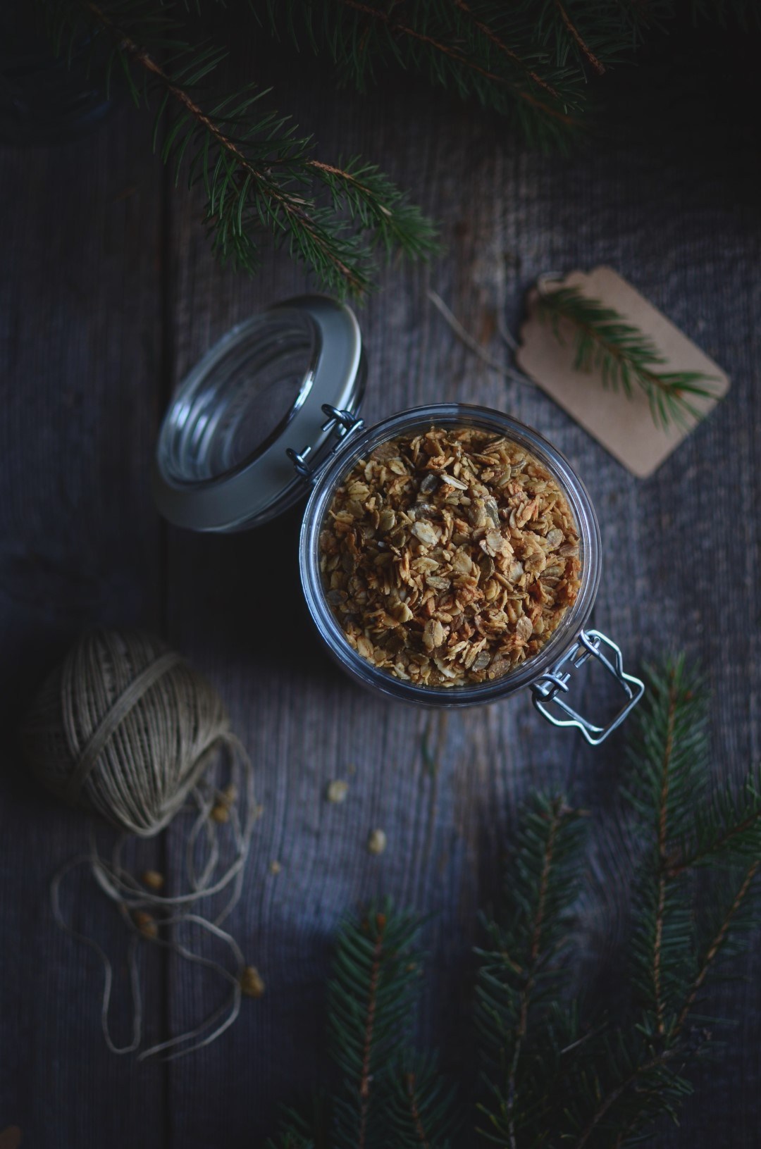 mix & match granola recipe | conifères & feuillus