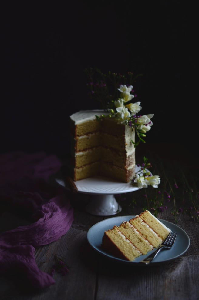 lemon layer cake | conifères & feuillus