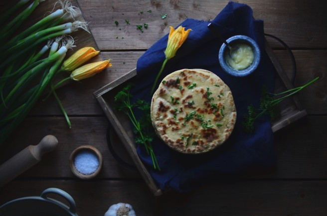 wholewheat naan | conifères & feuillus