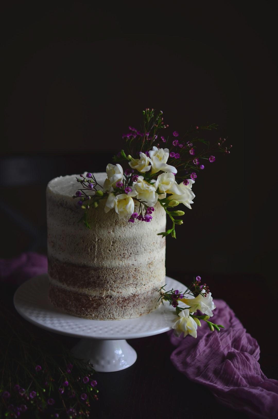 easy and moist lemon layer cake