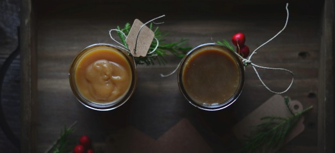 apple caramel sauce and & coffee caramel sauce | conifères & feuillus
