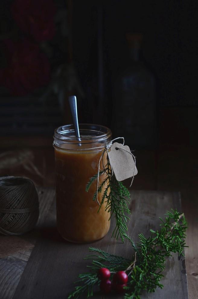 apple caramel sauce | conifères & feuillus