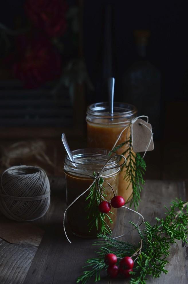 apple caramel sauce and & coffee caramel sauce | conifères & feuillus