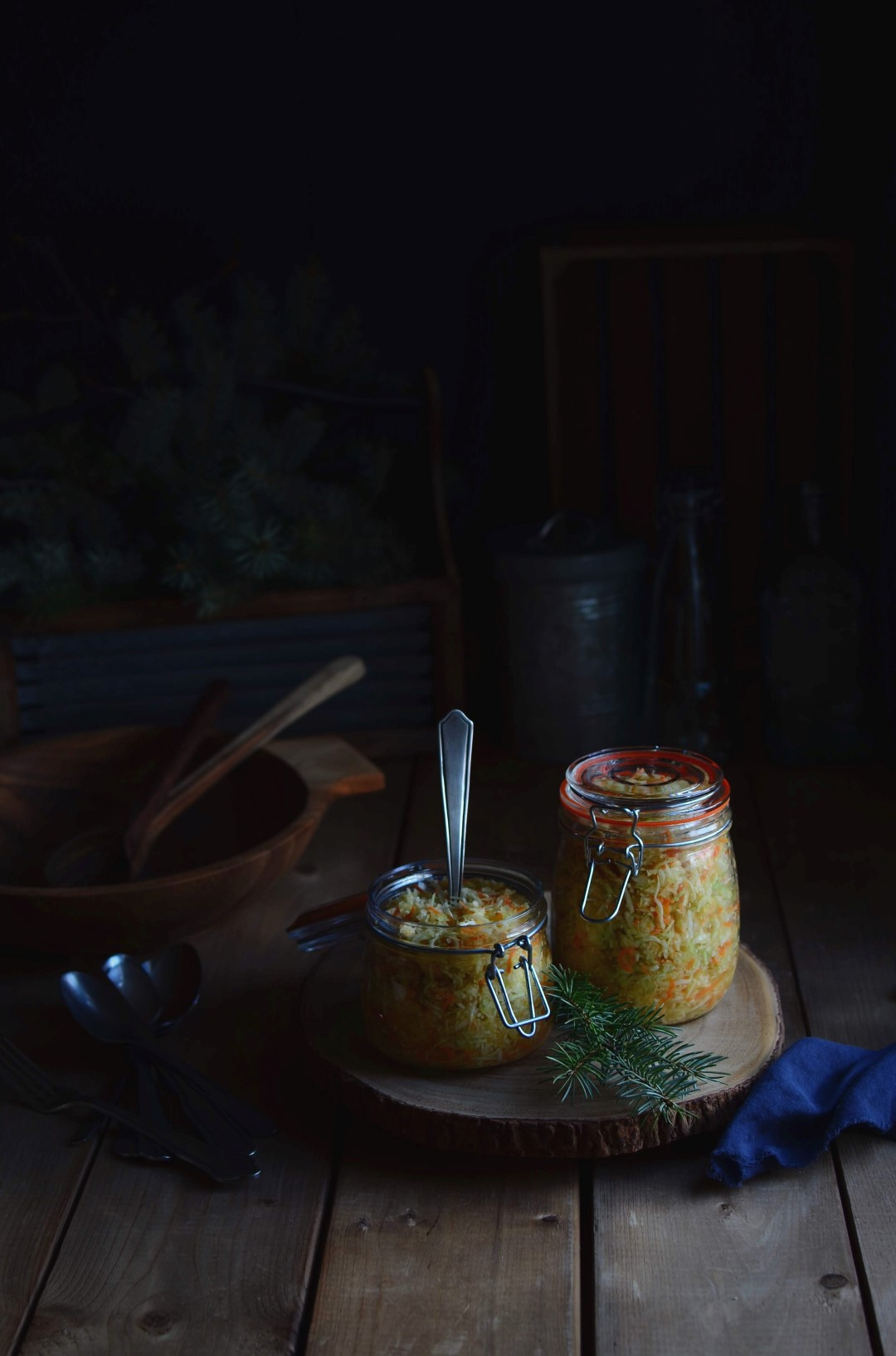 classic coleslaw | conifères & feuillus