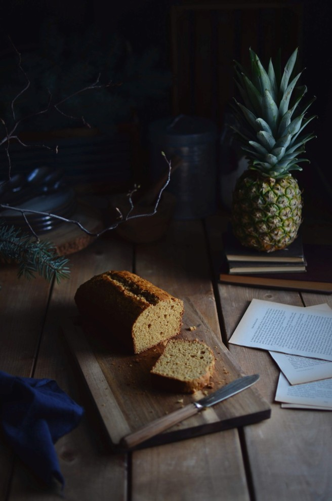 pineapple and coconut cake | conifères & feuillus
