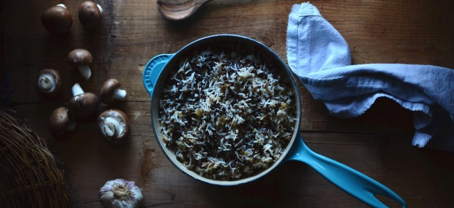 mujadara with du puy lentils | conifères & feuillus