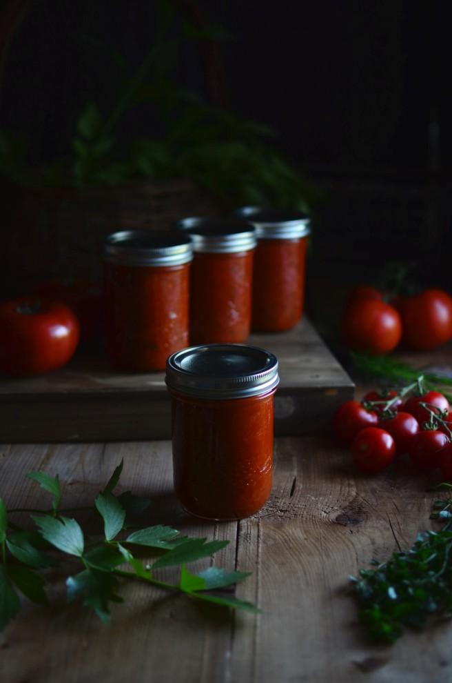 marinara sauce | conifères & feuillus
