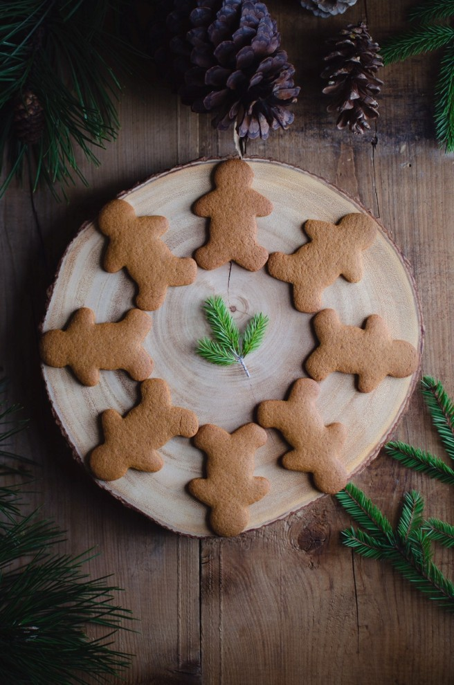 gingerbread men cookies | conifères & feuillus
